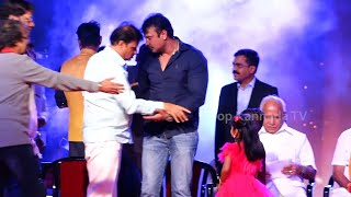 Darshan, Abhishek, Ravishankar Entry to Kurukshetra 100 Days Celebration Function