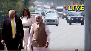 PM Modi and President Trump Live From Ahmedabad, Gujarat || Trump || Modi