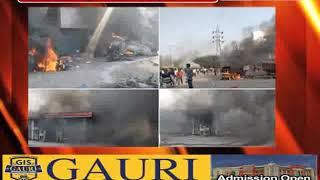 जाफराबाद और करावल नगर में फिर हिंसा शुरू, भजनपुरा में पेट्रोल पंप फूंका