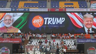 Namaste Trump: Glimpses from Ahmedabad ahead of President's arrival