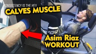 Asim Riaz FLAUNTS His Calves Muscle On Fans Demand | BEAST Workout | Bigg Boss 13 Fame