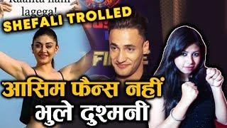 Asim Riaz Fans BADLY TROLLS Shefali Zariwala; Here's Why | Bigg Boss 13 Fame