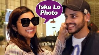 Parineeti Chopra Spotted At Mumbai Airport - Watch Video