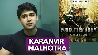 Karanvir Malhotra Exclusive Interview | The Forgotten Army Success