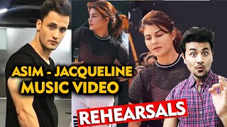 Asim Riaz Rehearsals With Jacqueline Fernandez For Music Video
