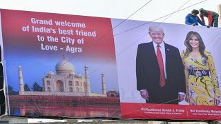 DONALD TRUMP AGRA // THE NEWS INDIA