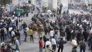 Delhi CAA Protest // Maujpur और जाफराबाद में भड़की हिंसा, गोली लगने से पुलिस कॉन्स्टेबल की मौत