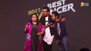 Bharti Singh & Haarsh Limbachiya BACK TO BACK Funny Moment At India's Best Dancer Show Launch