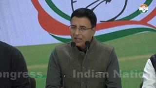 Northeast Delhi violence: Randeep Singh Surjewala addresses media at Congress HQ