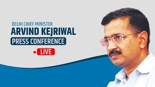 Delhi CM Arvind Kejriwal briefs Media on an Important Issue | LIVE