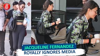 Jacqueline Fernandez Royally IGNORES The Media Asking For Photographs