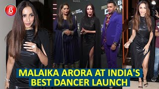 Malaika Arora Looks Smoking Hot As She Attends The Launch Event For India's Best Dancer