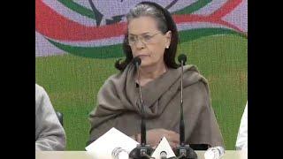 Sonia Gandhi blames Centre, Delhi govt for violence, says 'HM Shah should resign'