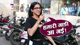 Sara Ali Khan Spotted At Clinic JUHU | Watch Video