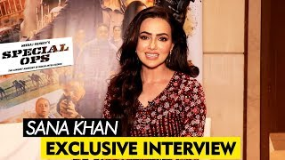 Sana Khan Exclusive Interview | Special Ops | By RJ Divya Solgama