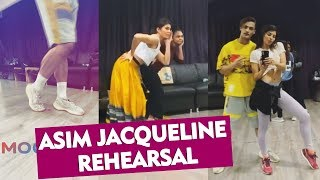 Asim Riaz And Jacqueline Fernandez Together REHEARSALS For Upcoming MUSIC Video