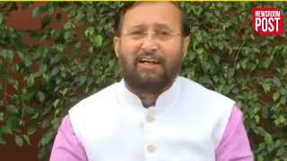 सोनिया गांधी के आरोप पर केंद्रीय मंत्री, प्रकाश जावड़ेकर ने कहा 84 के दंगे करवाने वाले अब....