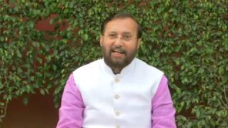 Byte by Shri Prakash Javadekar at 6 Kushak Road, New Delhi