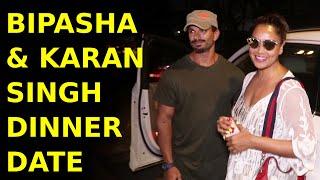 Bipasha Basu & Karan Singh Grover Spotted On A Dinner Date Andheri