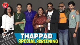 Taapsee Pannu's Thappad Screening Saw The Who's Who Of Bollywood Stand Up And Applaud The Film
