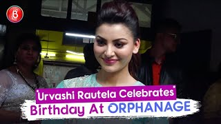 Urvashi Rautela Spends Her Birthday At An Orphanage With Little Kids