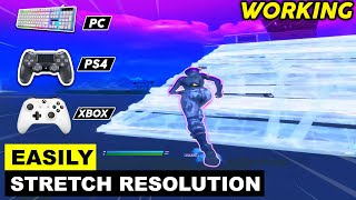 (NEW METHOD) How to Get Stretched Resolution in PS4 , PC , XBOX! Fortnite Chapter 2 - Season 2