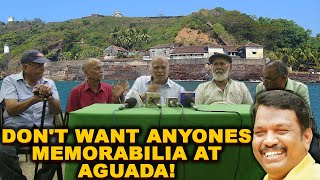 Freedom Fighters Come Down Heavily On Lobo say Don't want anyones memorabilia at Aguada