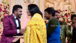 Puneeth Rajkumar Attends Chandan Shetty Marriage | Niveditha Gowda Chandan Shetty Marriage