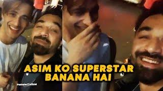Asim Ko Superstar Banana Hai | Asim Riaz LIVE VIDEO With Ajaz Khan | Bigg Boss 13 Fame