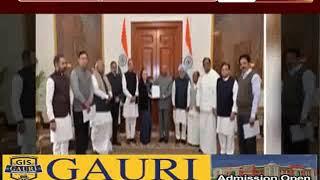 दिल्ली हिंसा: राष्ट्रपति से मिलीं सोनिया गांधी, की अमित शाह को हटाने की मांग
