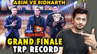 Asim Vs Sidharth | Bigg Boss 13 Finale Leaves Every Show Behind In TRP Ratings