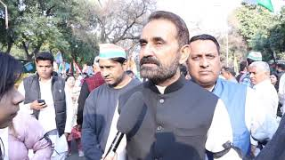 Peace March: Shaktisinh Gohil addresses media on Delhi Violence