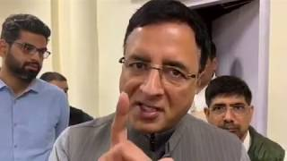 Randeep Singh Surjewala on Law Minister Ravi Shankar Prasad