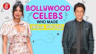 Shah Rukh Khan To Priyanka Chopra - Bollywood Celebs Who Made India Proud Internationally