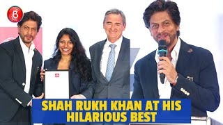 Shah Rukh Khan At His Hilarious Best At The La Trobe University PhD Scholarship Event