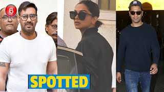 Ajay Devgn, Deepika Padukone, Vicky Kaushal Rock The Town With Their Flawless Looks