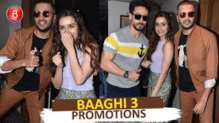 Riteish Deshmukh Flaunts His New Bald Look While Promoting Tiger Shroff-Shraddha Kapoor's Baaghi 3