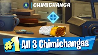 Find Deadpool's Chimichangas around HQ Fortnite