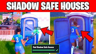 Find Shadow Safe Houses  - Week 2 Brutus Briefing Challenge Fortnite