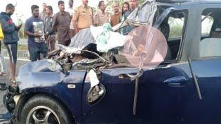 Telangana Accident News // तेलंगाना में भीषण सड़क हादसा, दो की गई जान