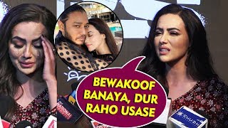 Sana Khan INSULTS Melvin Louis For Cheating On Her