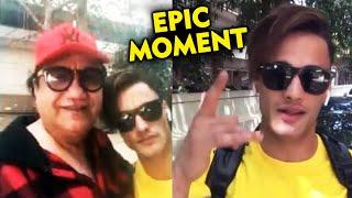Asim Riaz MEETS Abu Malik | EPIC Moment | Bigg Boss 13 Fame