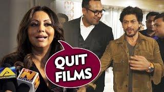 Quit Films | Gauri Khan Funny Advice To Shahrukh Khan