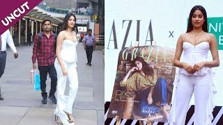 Janhvi Kapoor At Launch Of Grazia Magazine Cover March 2020 Cover