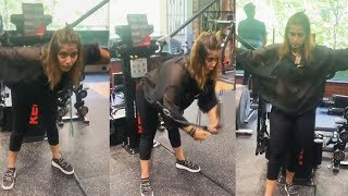 Arti Singh FIRST Workout Video After Bigg Boss 13