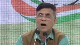 Pulwama terrorist gets bail: Pawan Khera addresses media at Congress HQ