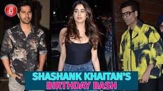 Janhvi Kapoor, Varun Dhawan, Karan Johar Make Shashank Khaitan's Birthday A Night To Remember