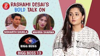 Rashami Desai's BOLD Confessions On Sidharth Shukla, Mahira Sharma & Salman Khan's Bigg Boss 13