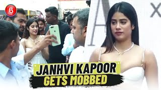 Janhvi Kapoor Mobbed By A Barrage Of Fans At An Event Requesting For A Selfie