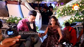 Chandan & Niveditha Royal Entry on Chariot | Chandan Shetty and Niveditha Gowda Marriage Video
